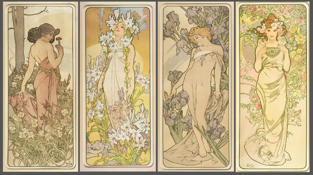 the four flowers