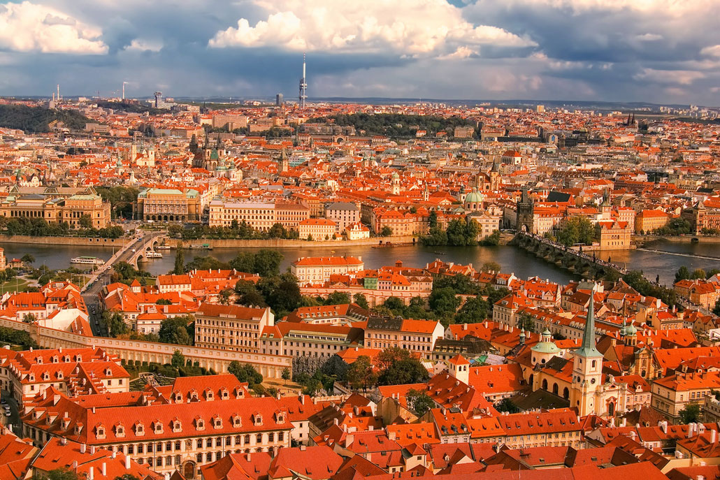 Prague-red-roofs-panorama